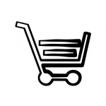 Cart Icon for Bookstore link